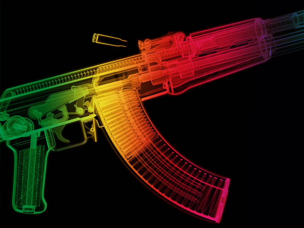 Go Back Images For Ak 47 Wallpaper Iphone 1024x768