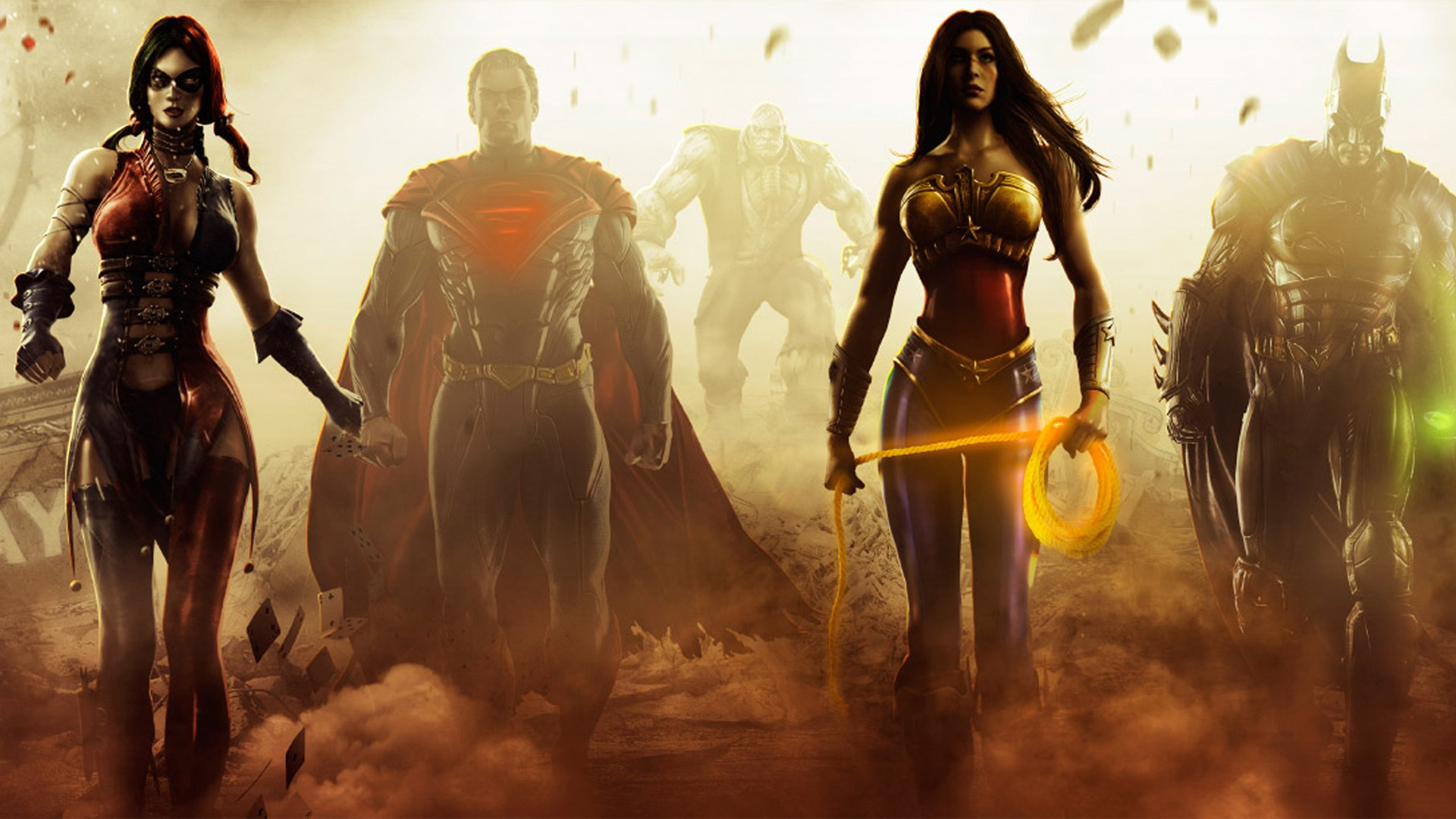Superman Harley Quinn Wonder Woman New 52 Solomon Grundy Suicide Squad 1920x1080
