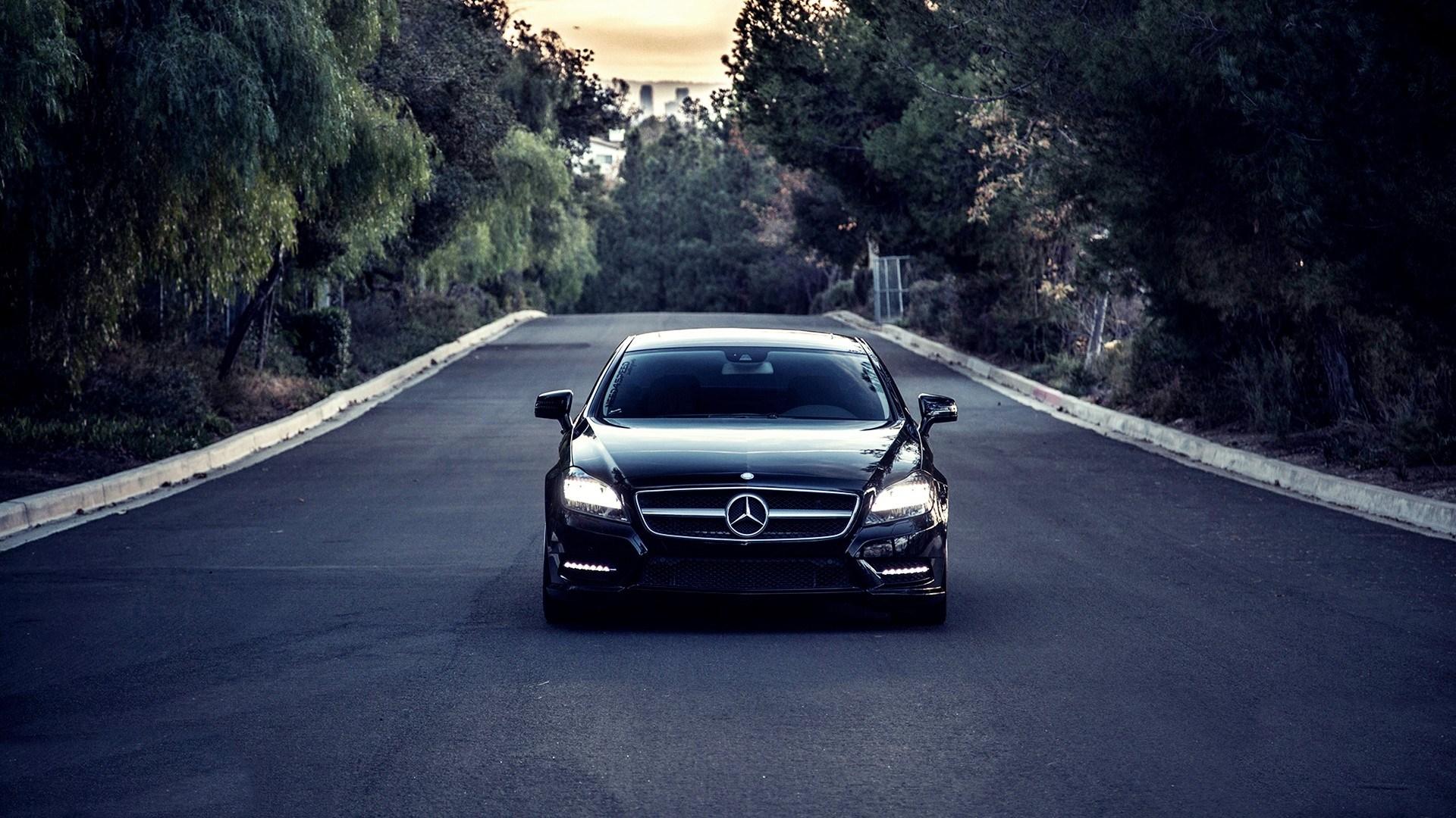 Free Download Mercedes Benz Cls550 Vossen Hd Wallpaper 1920x1080 Images, Photos, Reviews