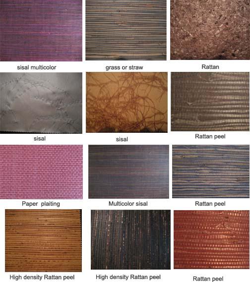 China Natural Plant Fiber Wallpaper 021231   China Wallpaper 504x569
