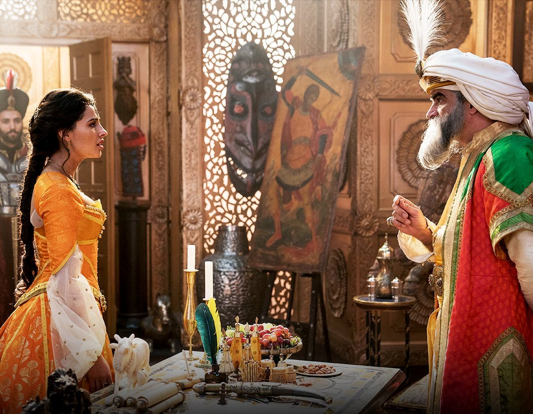 New Images of Naomi Scott as Jasmine in Disneys Aladdin 2019 1080x840