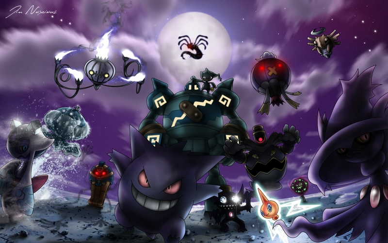 Download Pokemon Gengar Wallpaper 800x500 Full HD Wallpapers 800x500