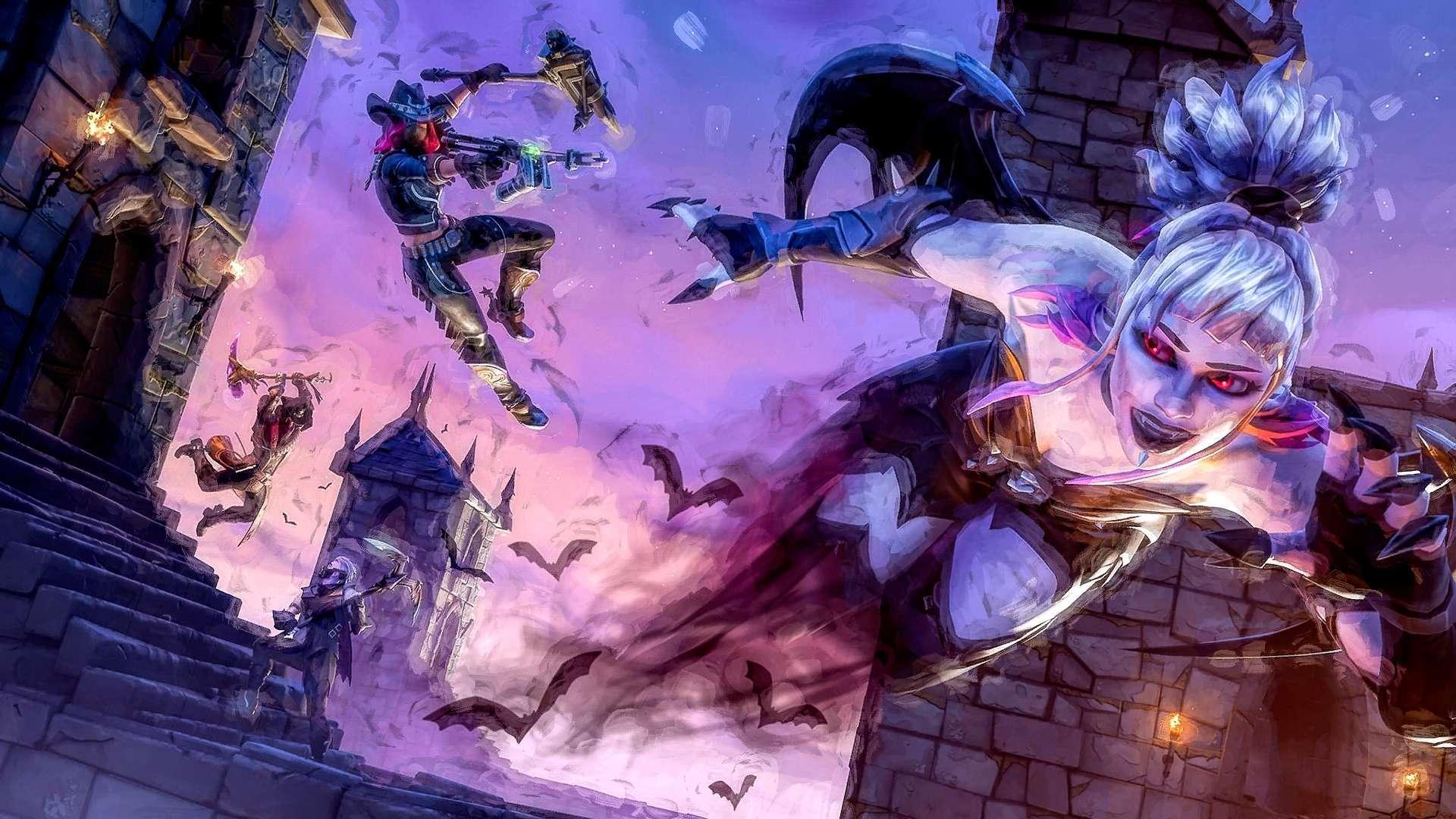 Fortnite Anime Wallpapers   Top Fortnite Anime Backgrounds 1920x1080