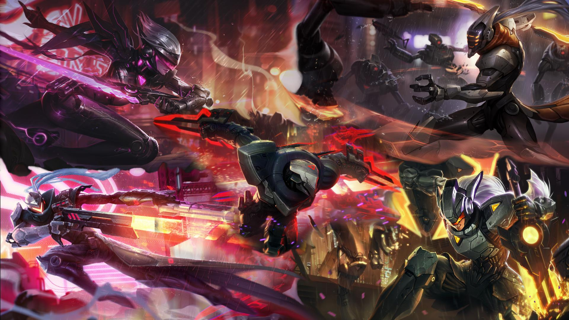 Free Download League Of Legends Project Wallpaper Imgur