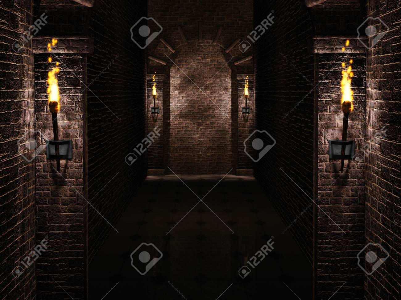 Arches With Torches Background Stock Photo Picture And Royalty 1300x975