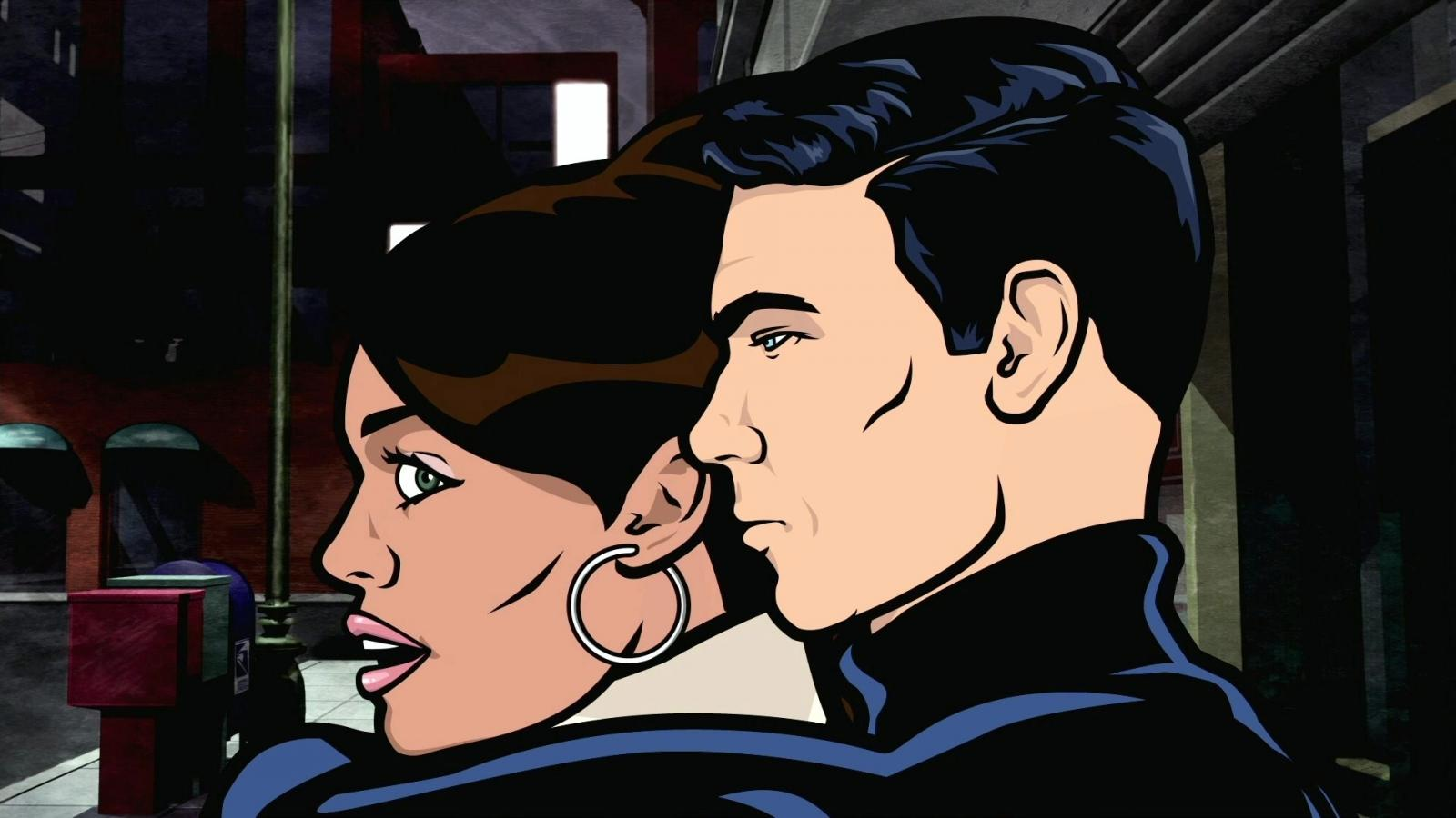 Sterling archer tv lana kane wallpaper 51769 1600x900