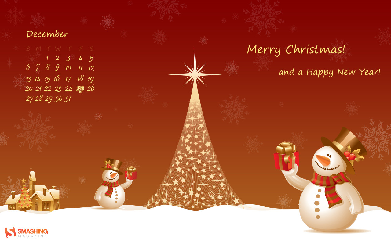 Previous Holidays   New Year wallpapers   Christmas theme wallpaper 1280x800