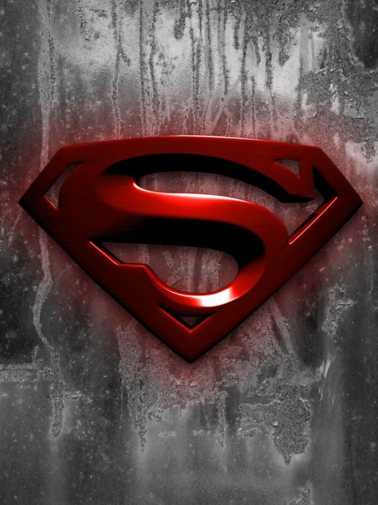 MoviesTV   Superman Logo Wallpaper   iPad iPhone HD Wallpaper 768x1024