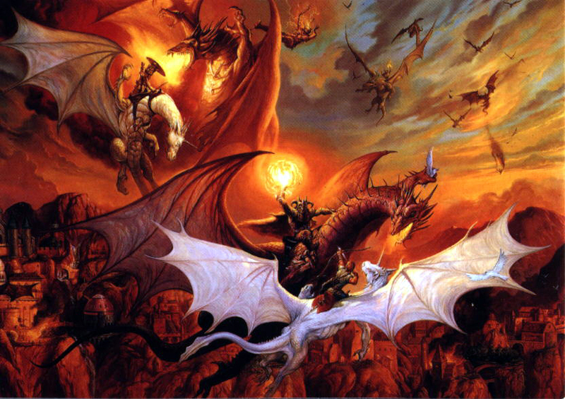 Dragonlance Wallpaper Uso de cookies 800x565
