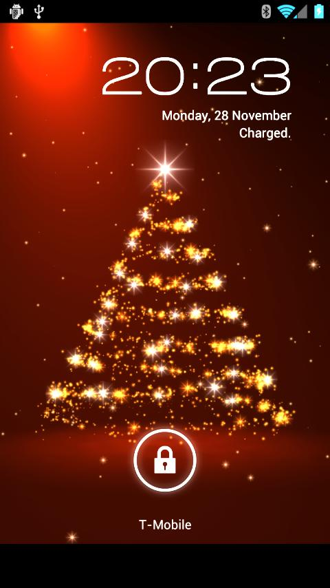 Christmas Live Wallpaper   Android Apps on Google Play 480x854