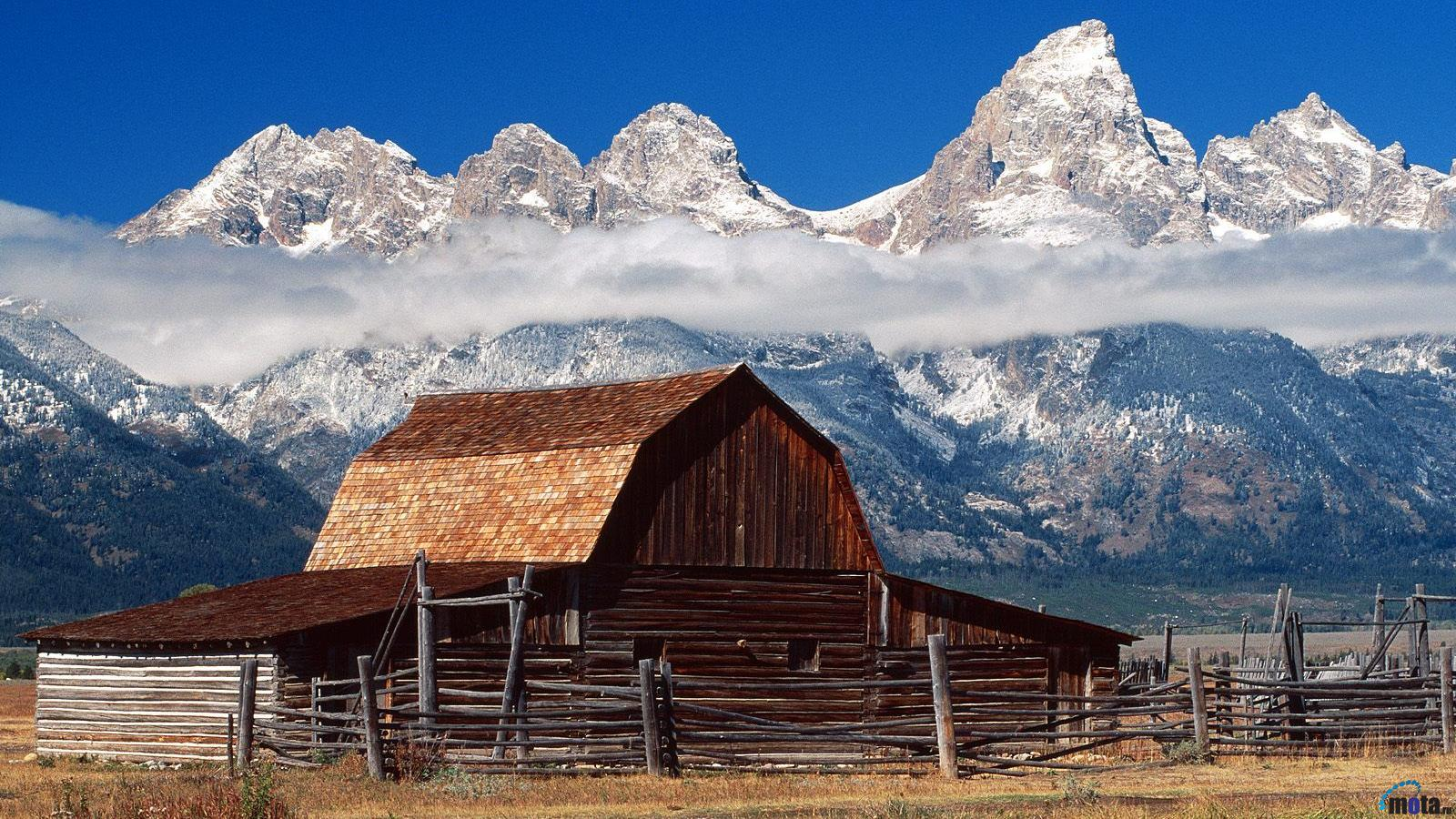 Jackson Hole Wyoming 1600 x 900 widescreen Desktop wallpapers and 1600x900