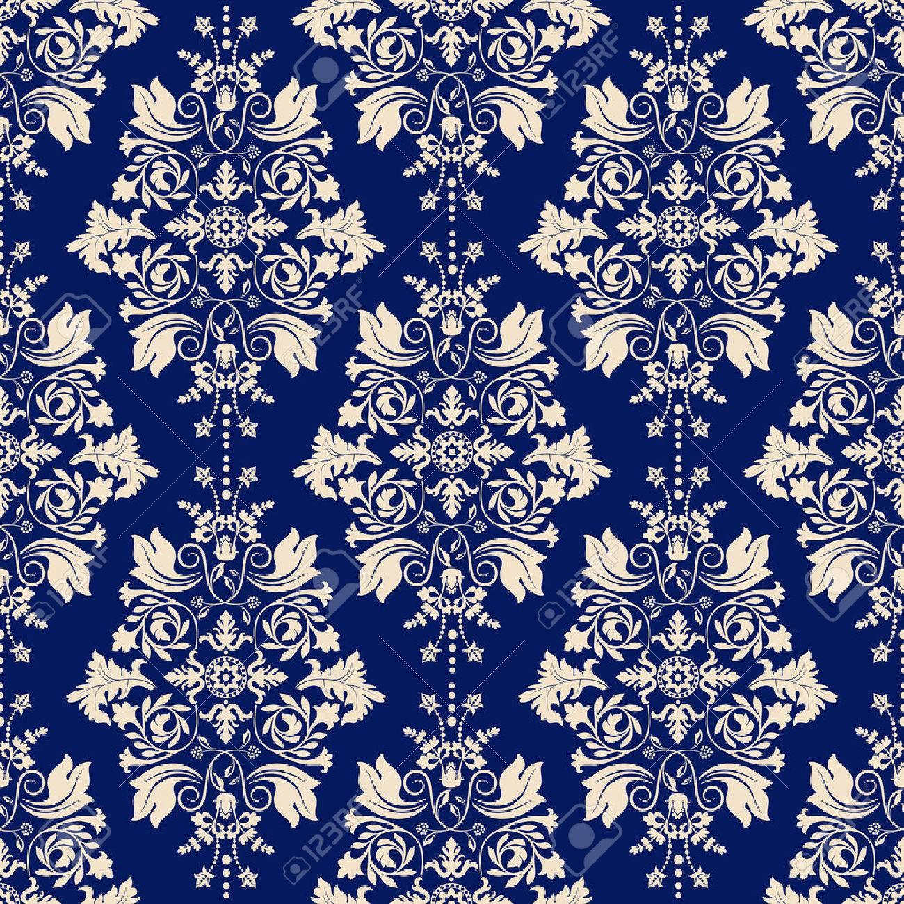 Seamless Damask Pattern Classic Wallpaper Classic Background 1300x1300