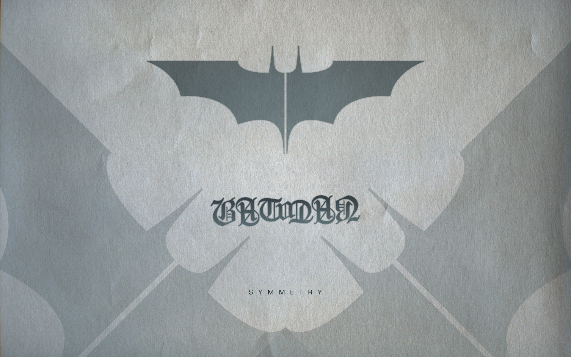 Batman Ambigram Wallpaper by michealoduibhir 1920x1200