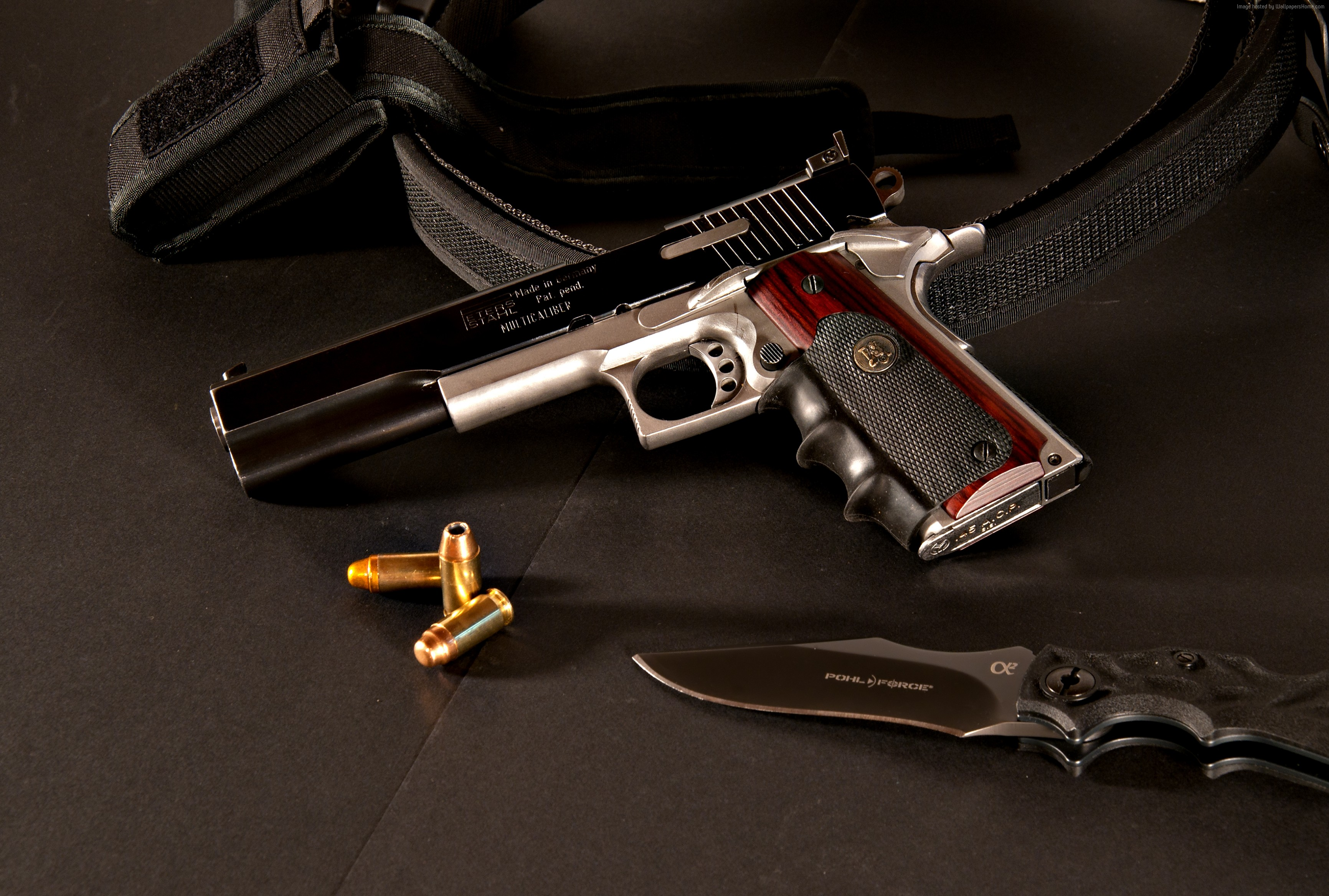 Peters Stahl Wallpaper Military Weapons Peters Stahl pistol 3463x2336