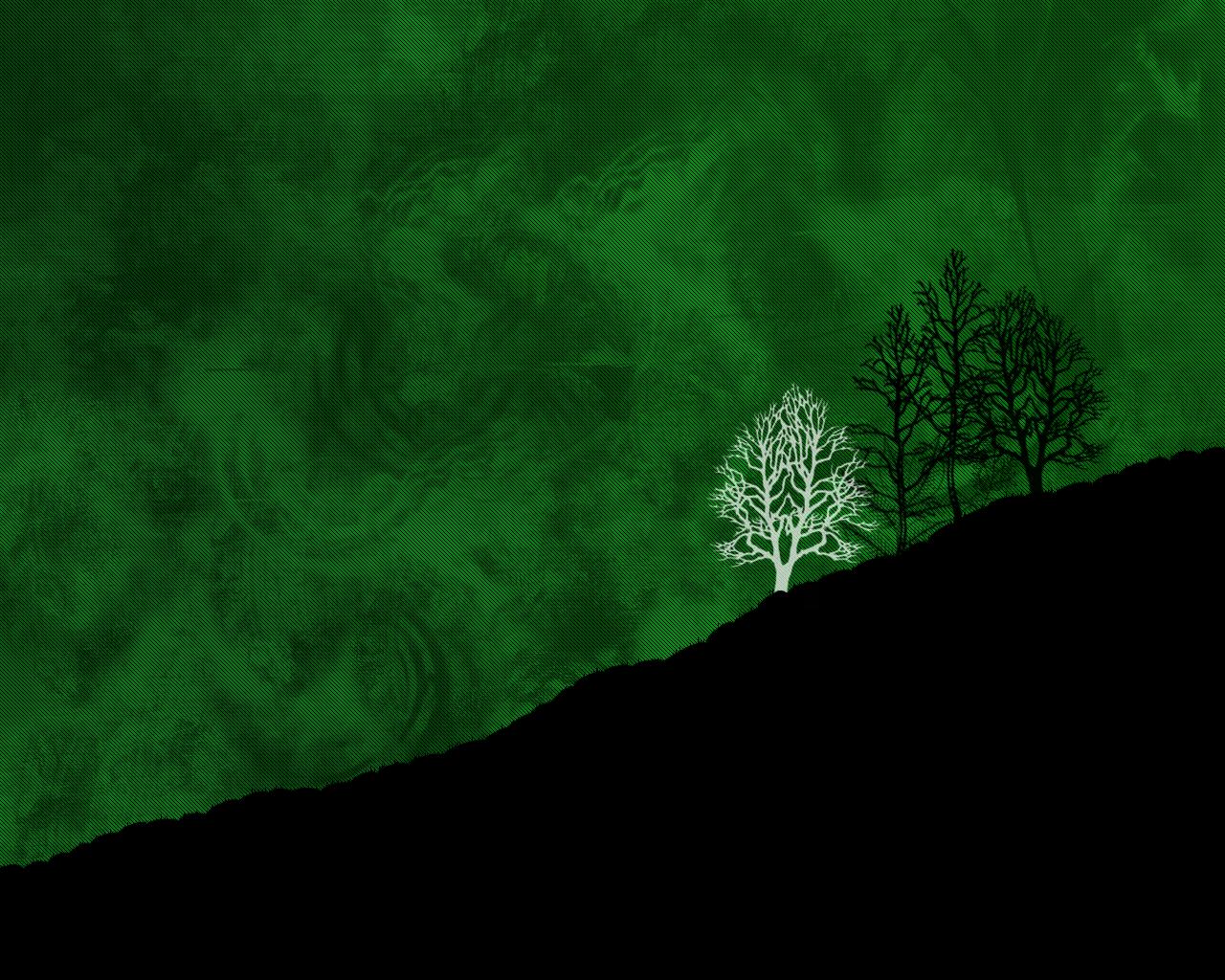 wallpaper green black by z3r0 421 customization wallpaper minimalistic 1280x1024