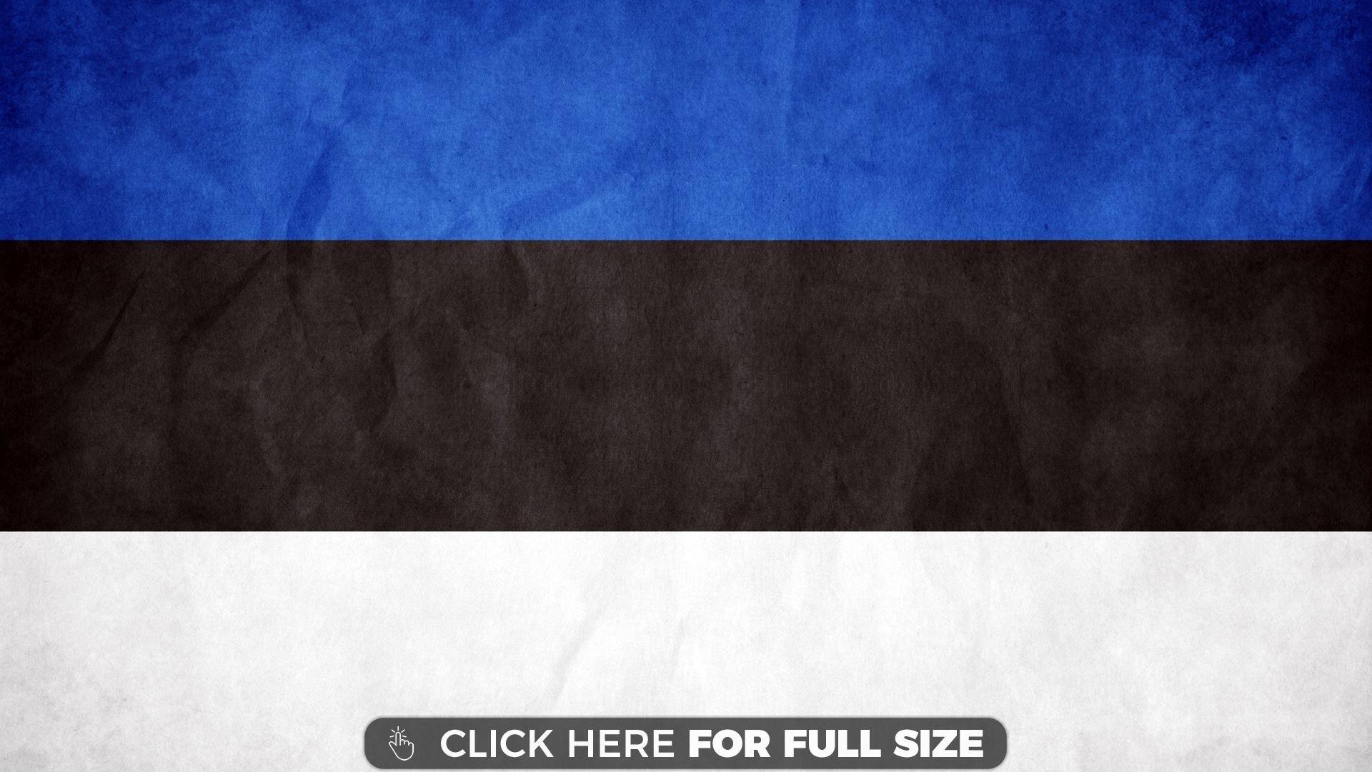 Estonia Flag wallpaper Desktop Wallpapers Estonia flag 1920x1080