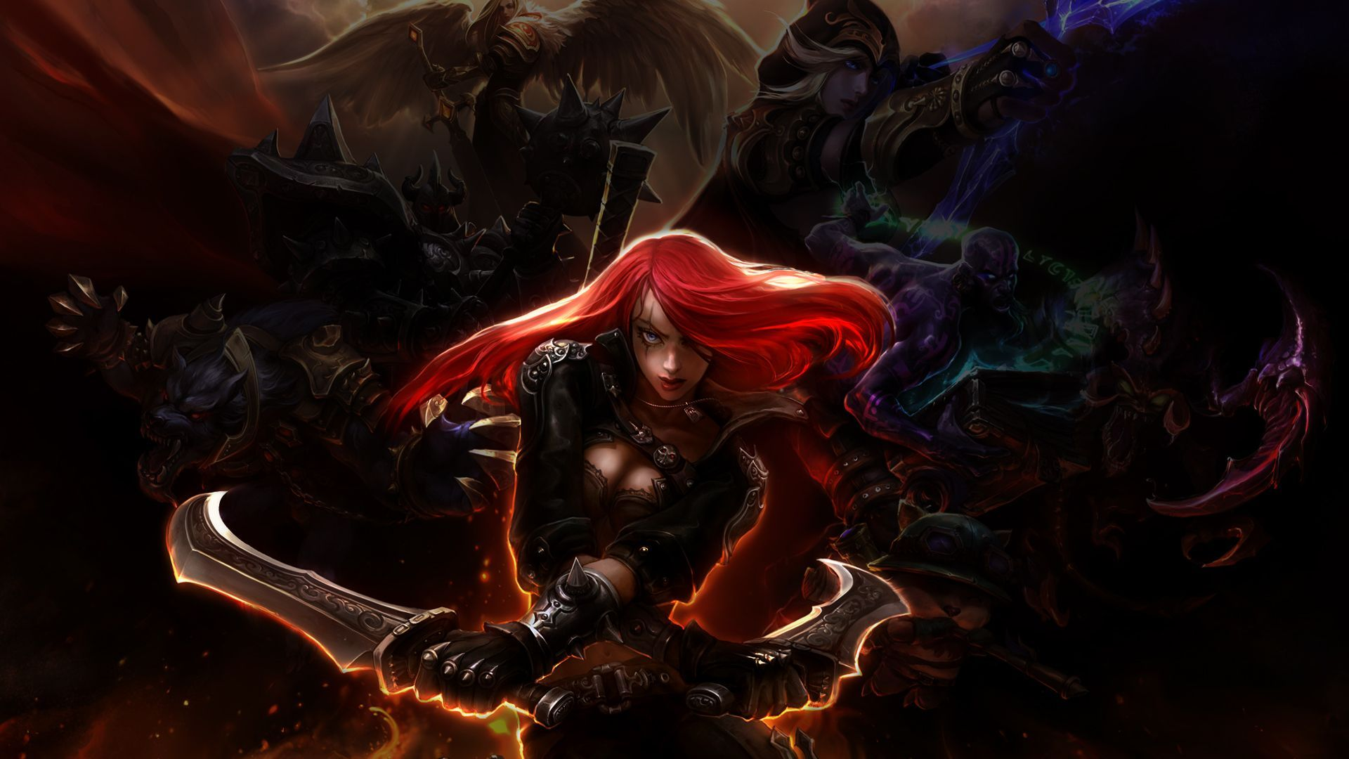 LOL Katarina Wallpaper HD  WallpaperSafari