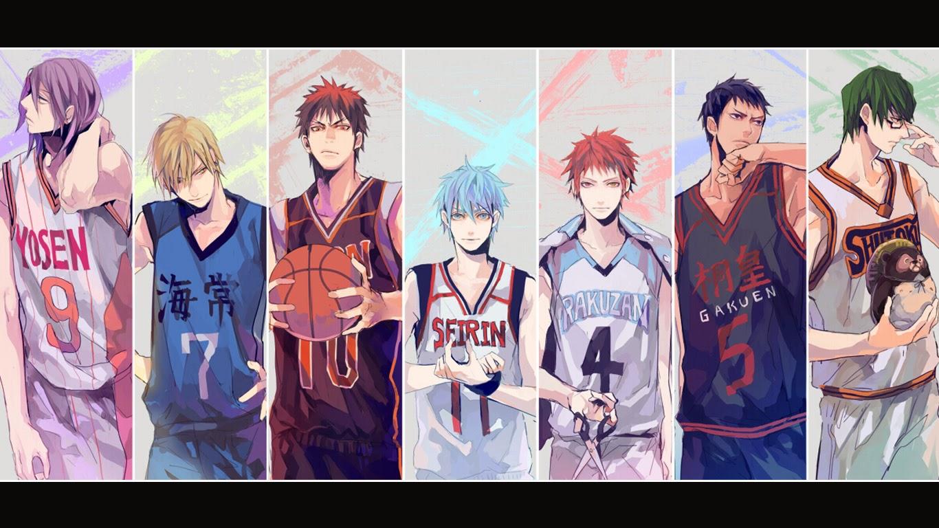 Kuroko Basketball Wallpaper   52DazheW Gallery 1366x768