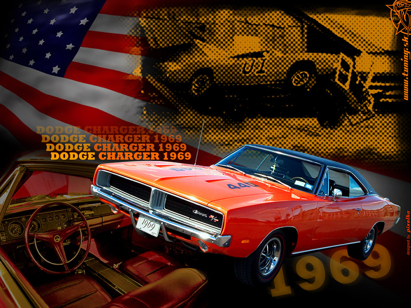 Dodge Charger 69 Wallpaper by TuningmagNet 800x600