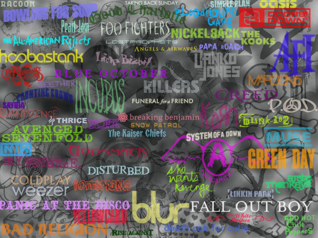 Cool Bands by Syaantjuh   Rock n Roll Wallpaper 603261 1024x768