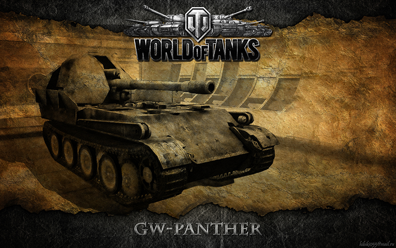 Photo World of Tanks SPG GW Panther vdeo game 1280x800