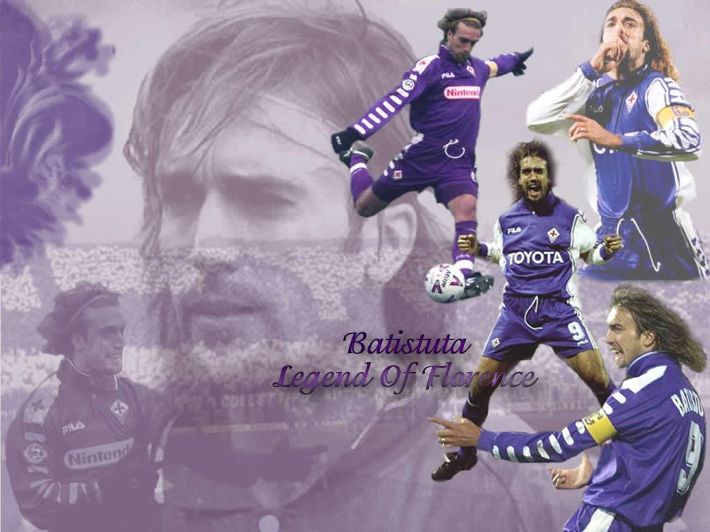 Download Football Wallpaper Gabriel Batistuta 1024x768