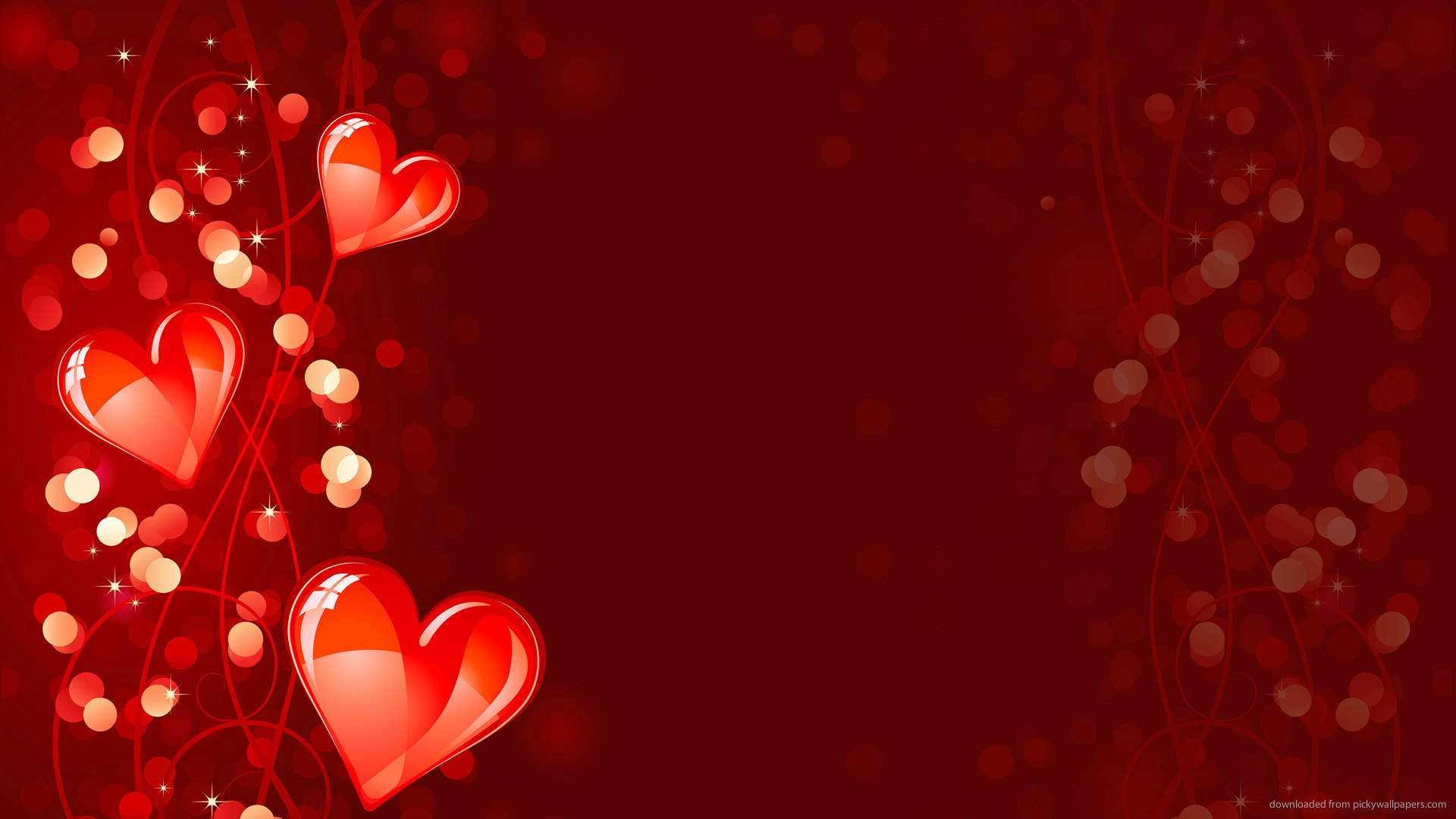 48 free hearts wallpaper and screensavers on