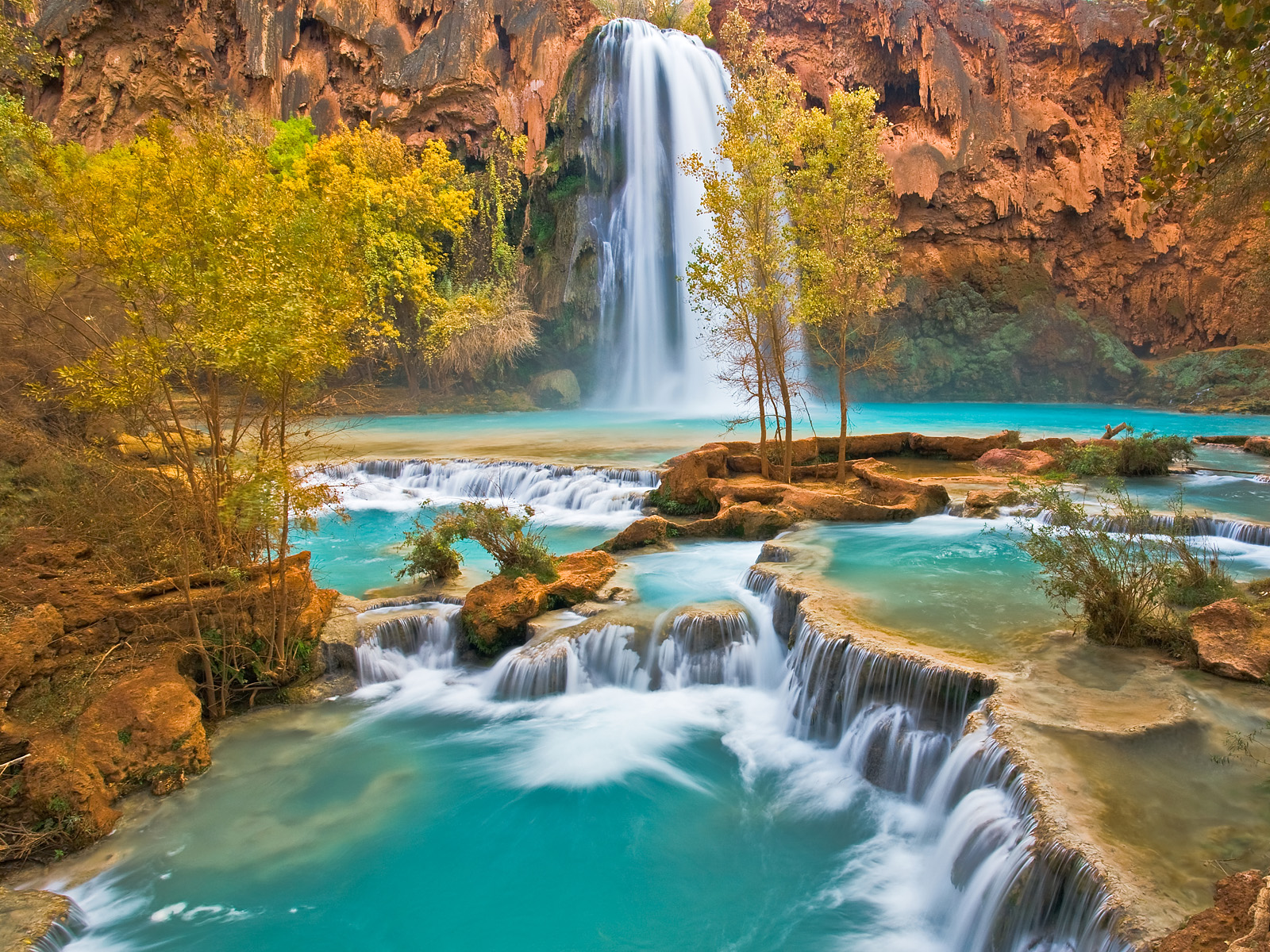 Havasu Falls Arizona Wallpapers Full Desktop Backgrounds 1600x1200
