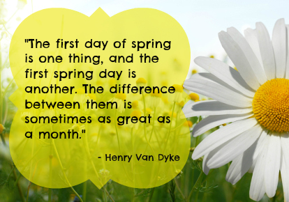 First Day Of Spring Quotes Wallpaper Daily 414x290