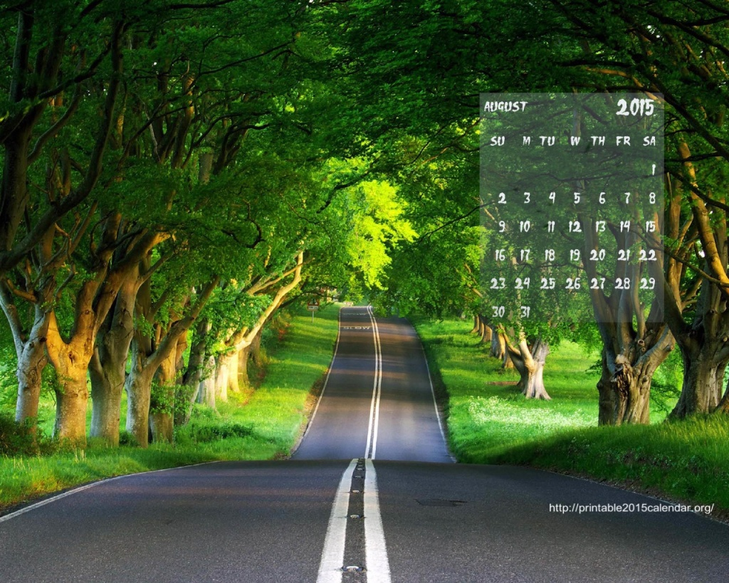 2015 Monthly Calendar Wallpaper 1024x819