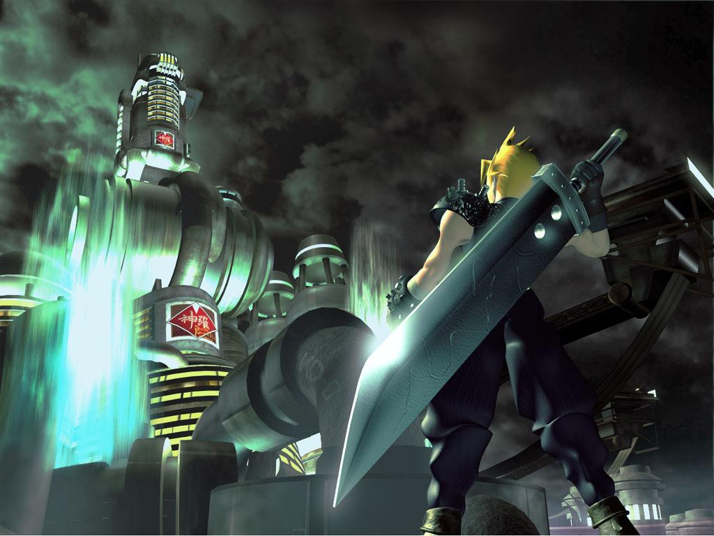 Final Fantasy VII FFVII FF7   Wallpapers 1024x768