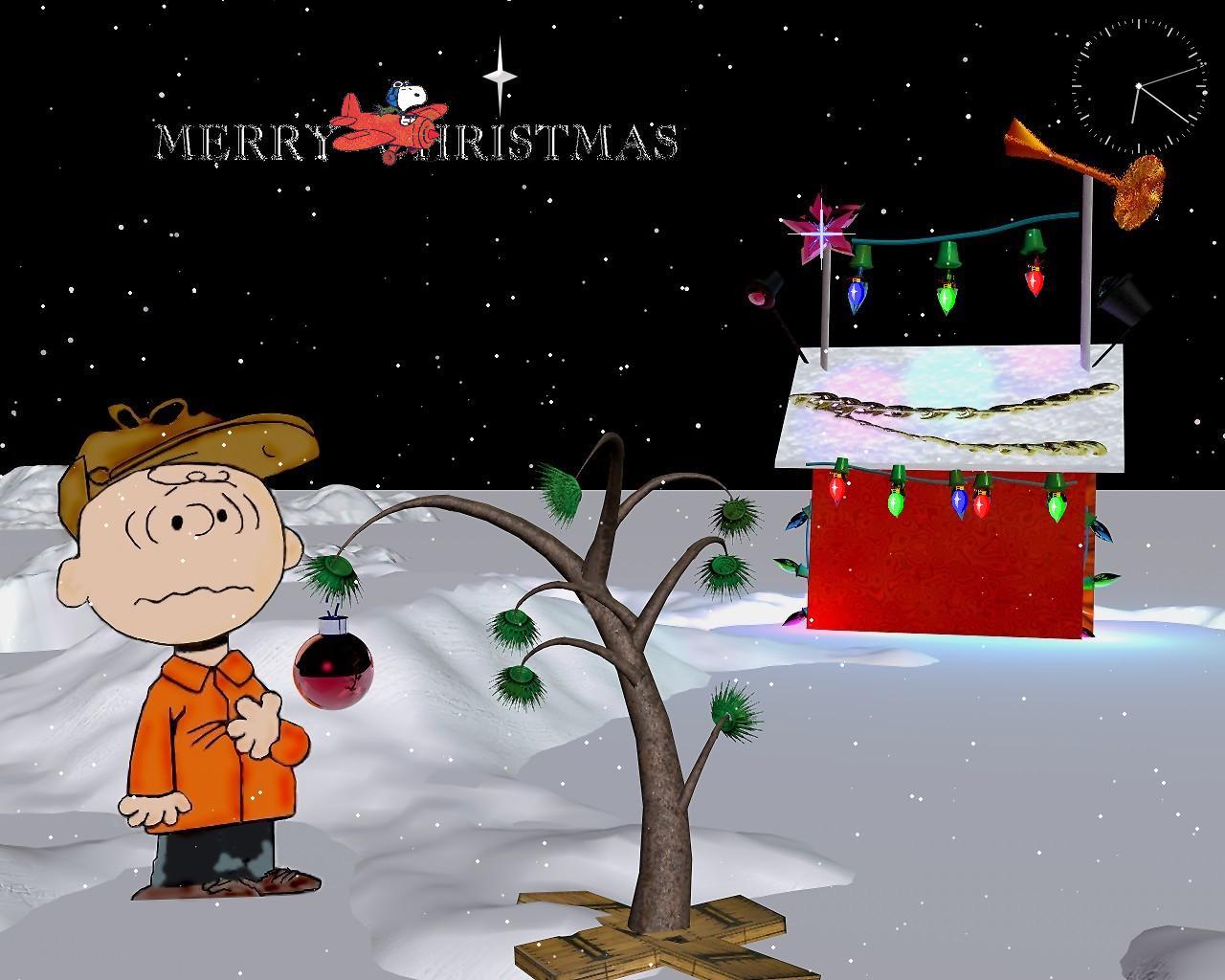 charlie Brown Christmas 1280x1024
