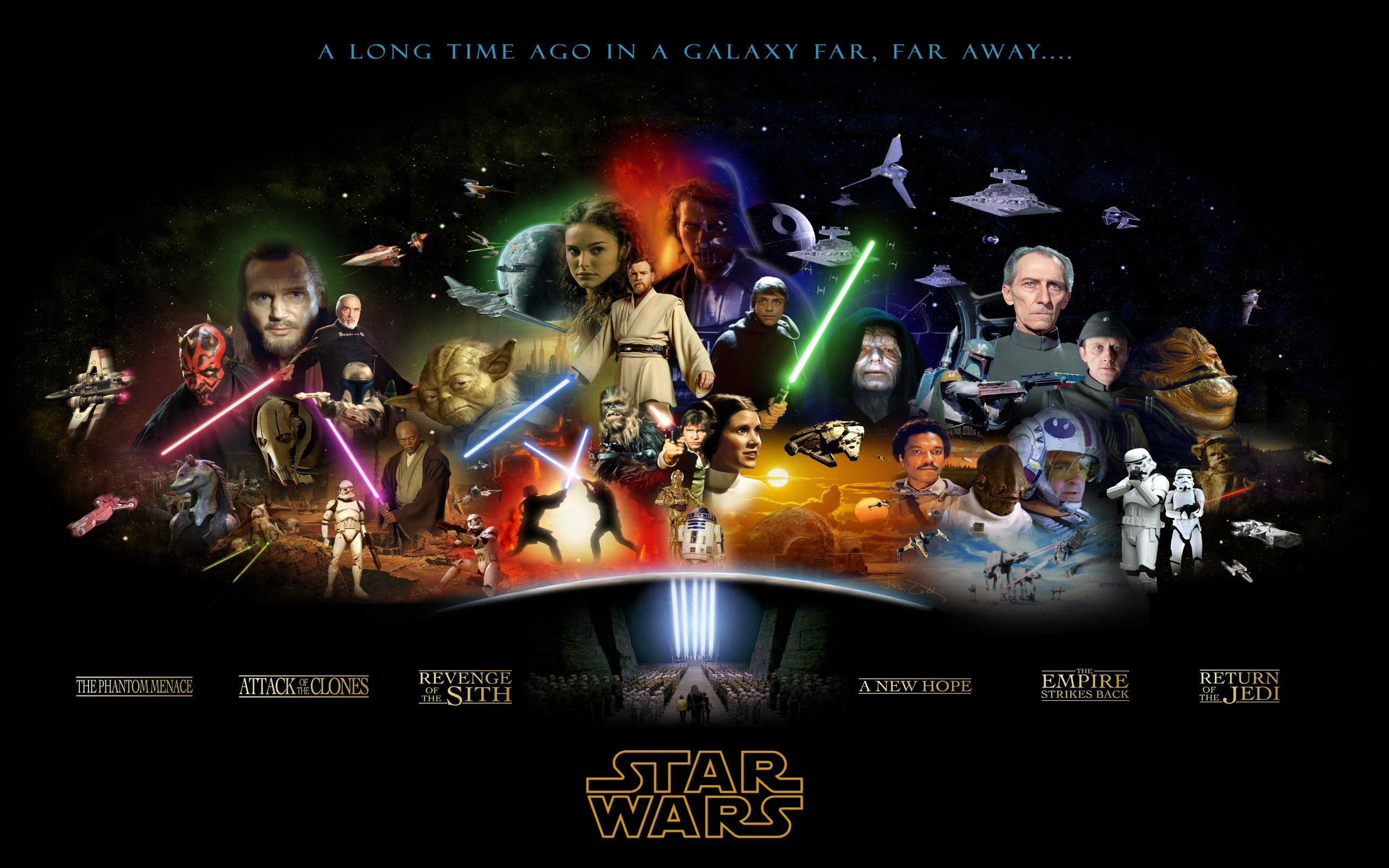 Star Wars Anthology Wallpapers HD Wallpapers 2560x1600