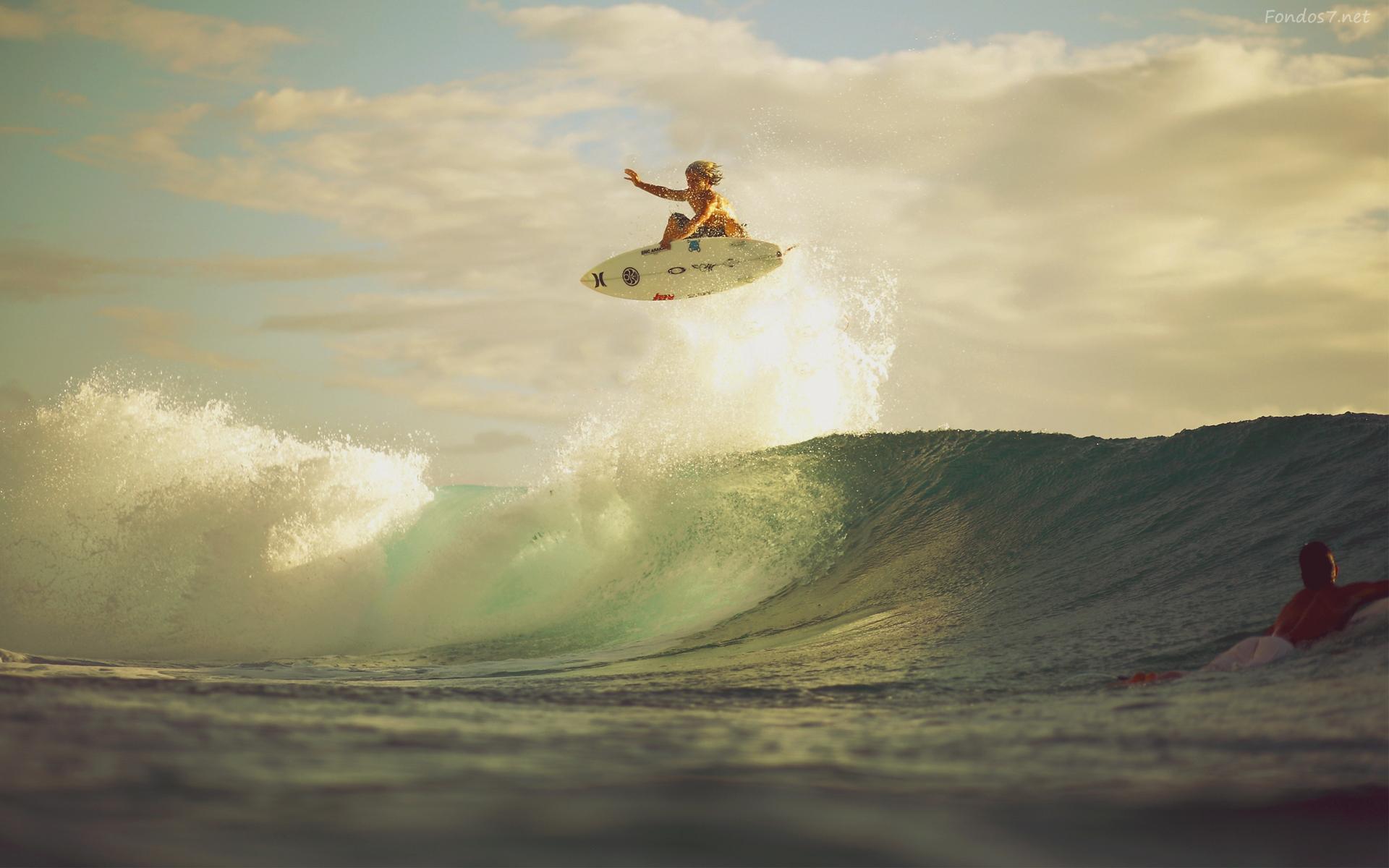Fondos de pantalla salto de surf hd widescreen Gratis imagenes 6310 1920x1200