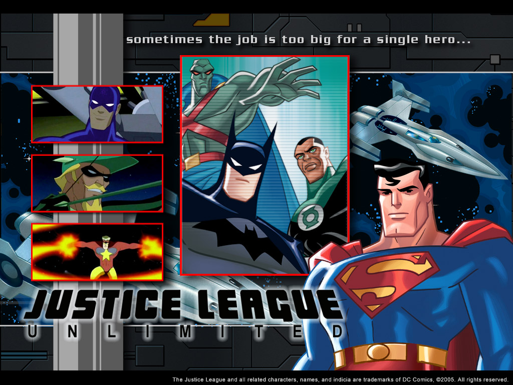Justice League Unlimited   Babes HD Wallpaper 1024x768