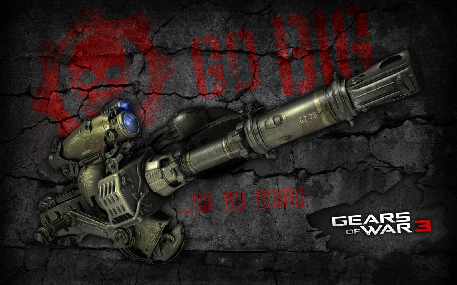 More Gears of War 3 Desktop Wallpapers 1600x1000