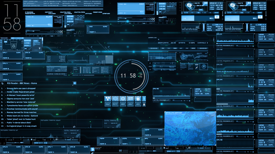 List Of Top Iron Man Jarvis Interface Images 900x506
