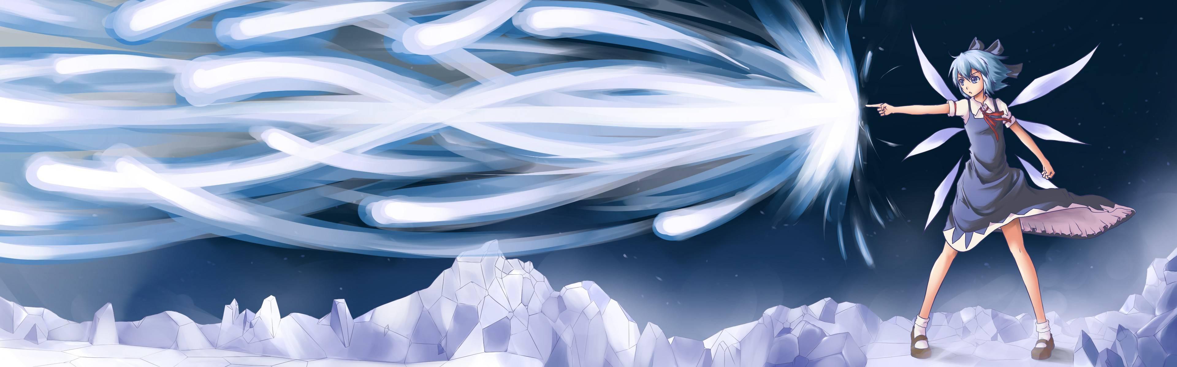 Touhou Hd Flandre Scarlet Wallpaper Wallpapertube 3840x1200
