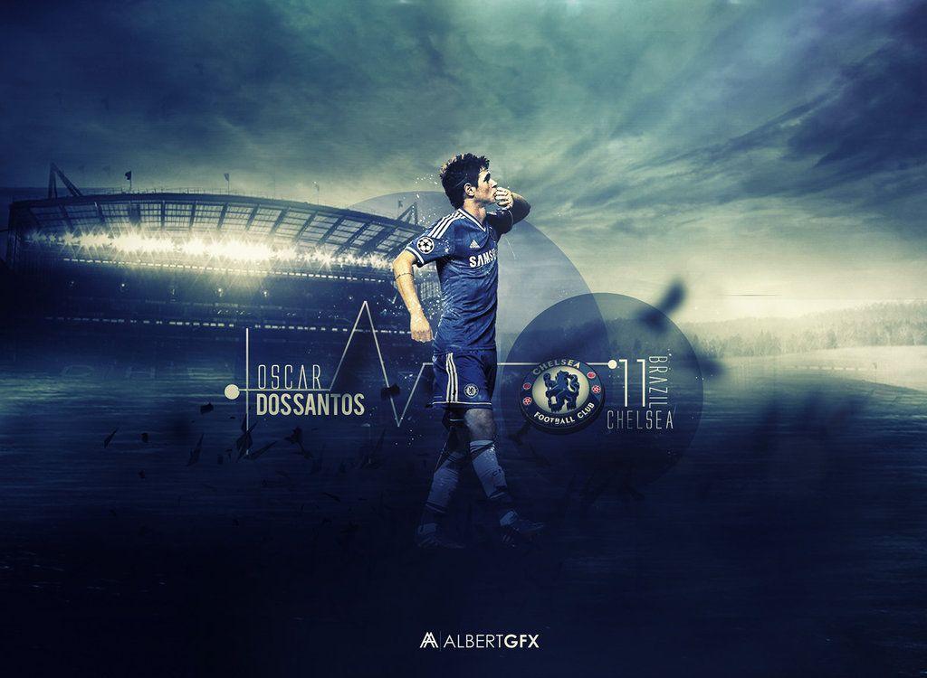 Oscar dos santos Chelsea FC best desktop wallpaper   FIFA Football 1024x750