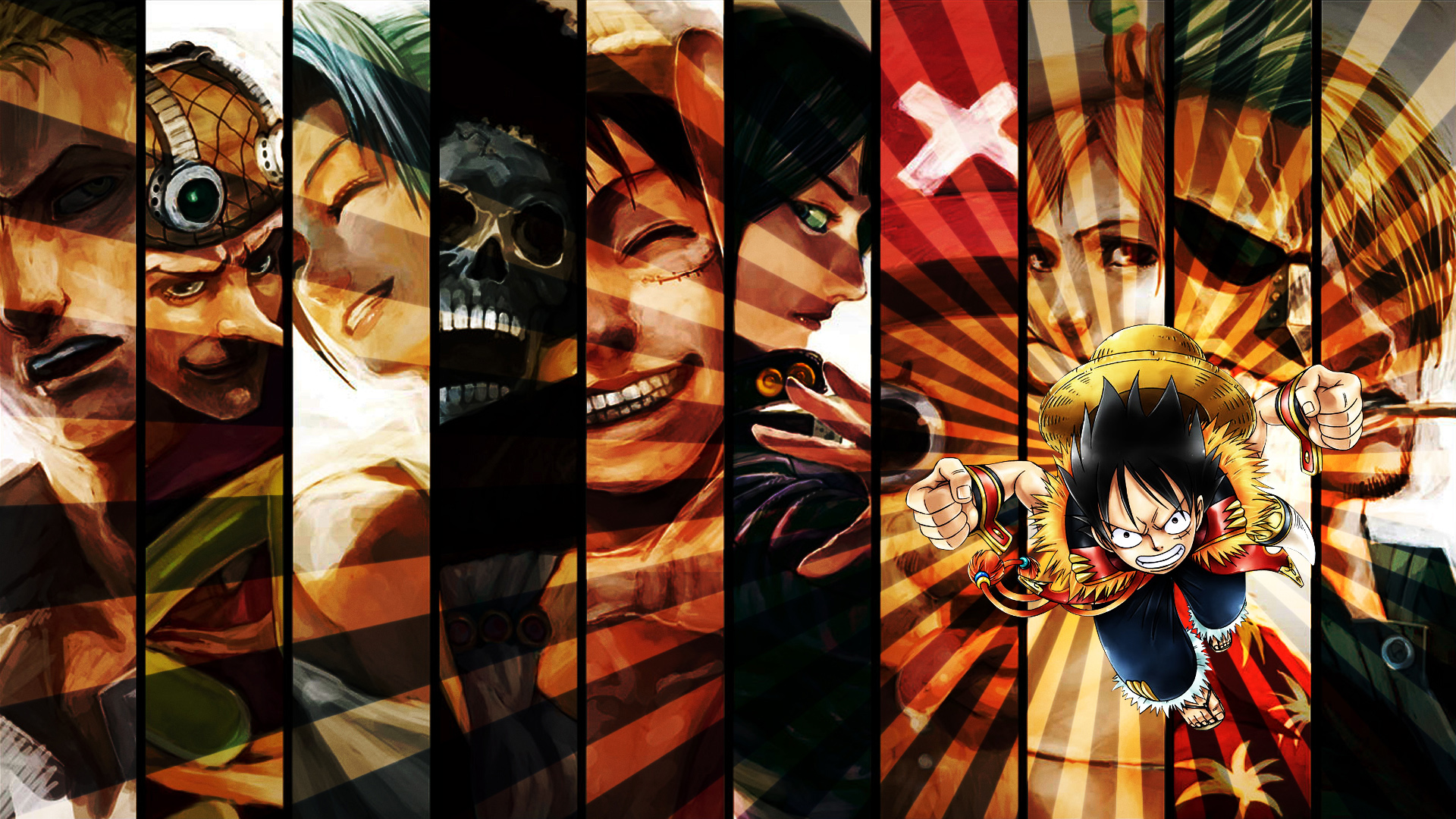 One Piece Art Anime hd wallpapers Background HD Wallpaper for 1920x1080