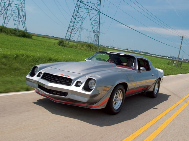 1979 Chevy Camaro Z28 Front View 640x480