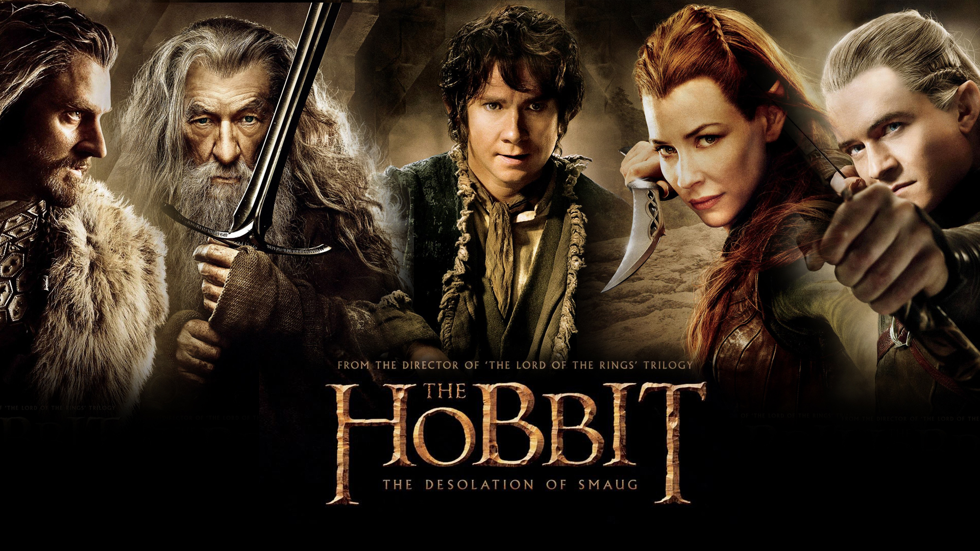 The Hobbit The Desolation of Smaug Movie   Wallpaper High Definition 1920x1080