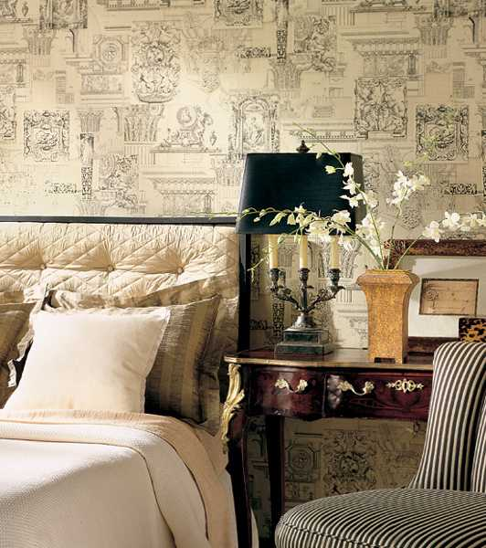 wallpaper decorating ideas 2015   Grasscloth Wallpaper 532x600