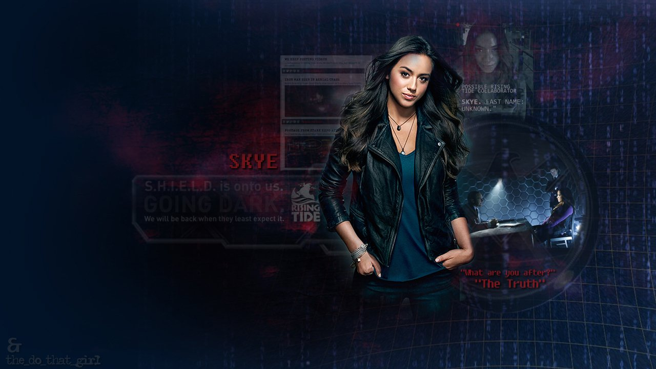 48 Skye Agents Of Shield Wallpaper On Wallpapersafari
