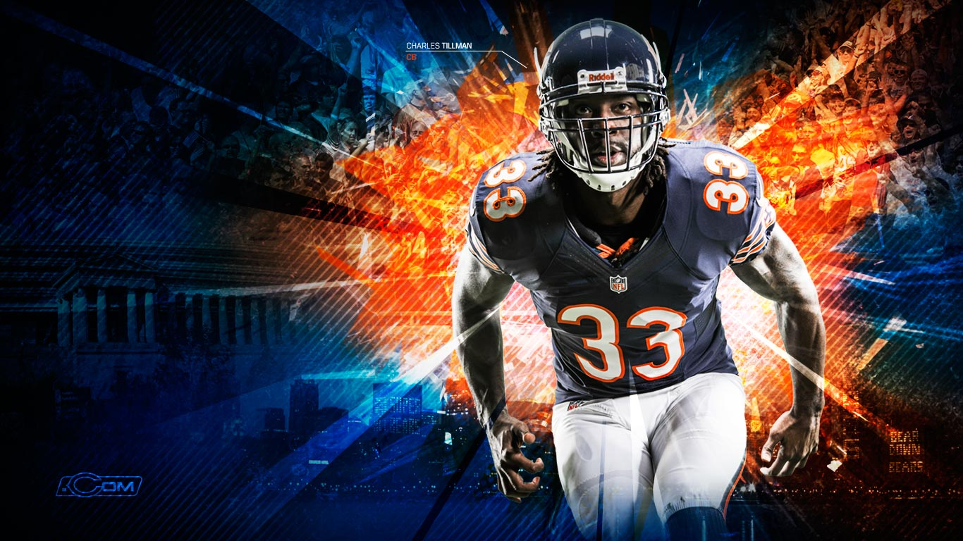 Chicago Bears 2012 wallpaper 1366x768