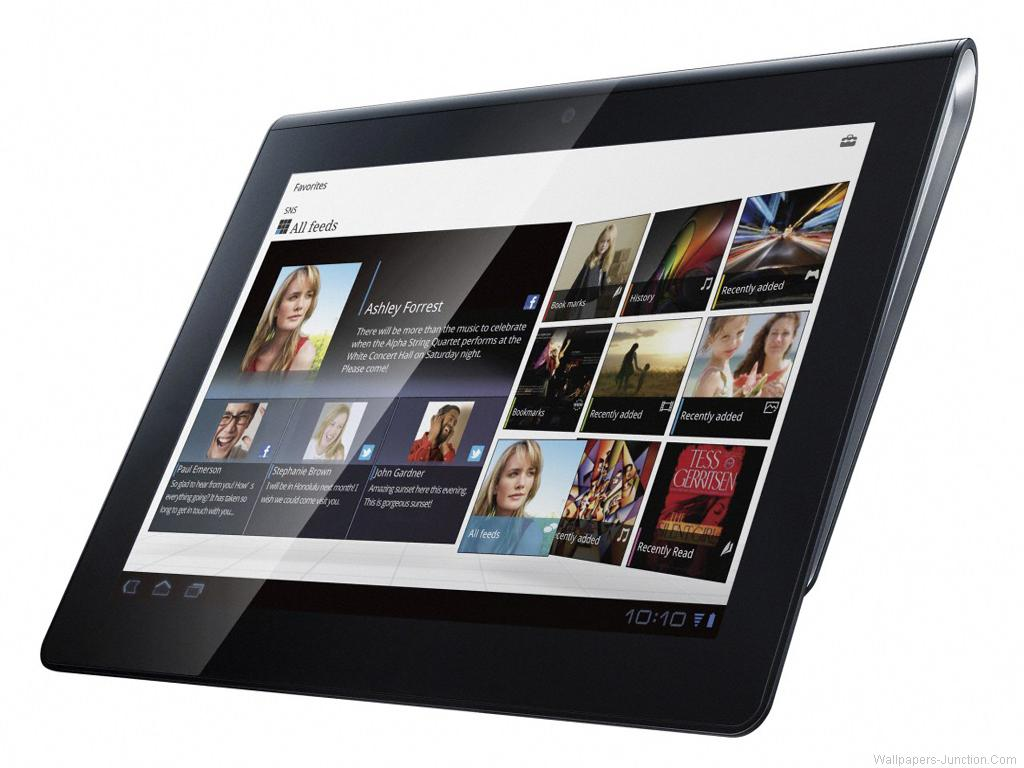 The Tablet S is the first tablet computer released by Sony 1024x768