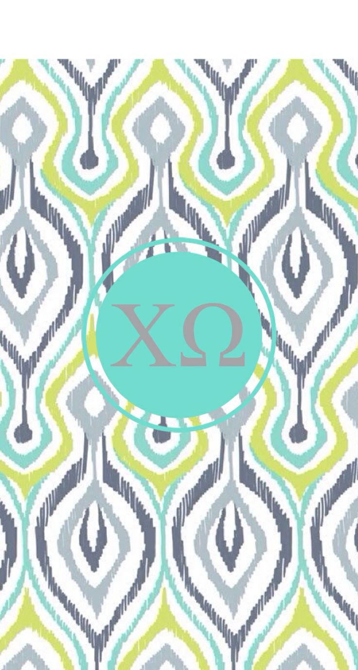Chi omega phone background from MonogramApp by Liana Louie 736x1377