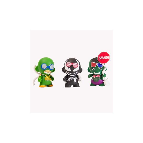Kidrobot x Marvel Micro MUNNY Superhero Toy 3 Inch 600x600
