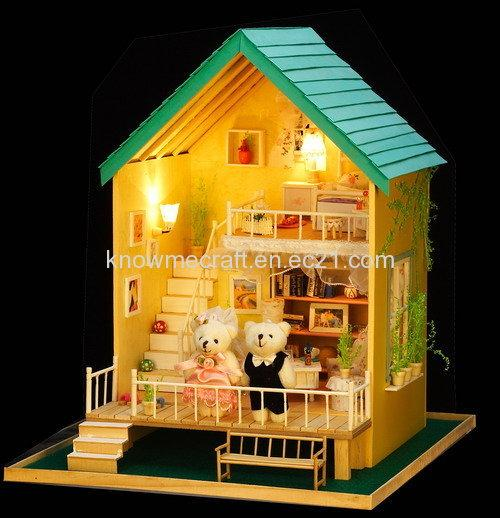 Dollhouse Miniature Asian Wallpaper
