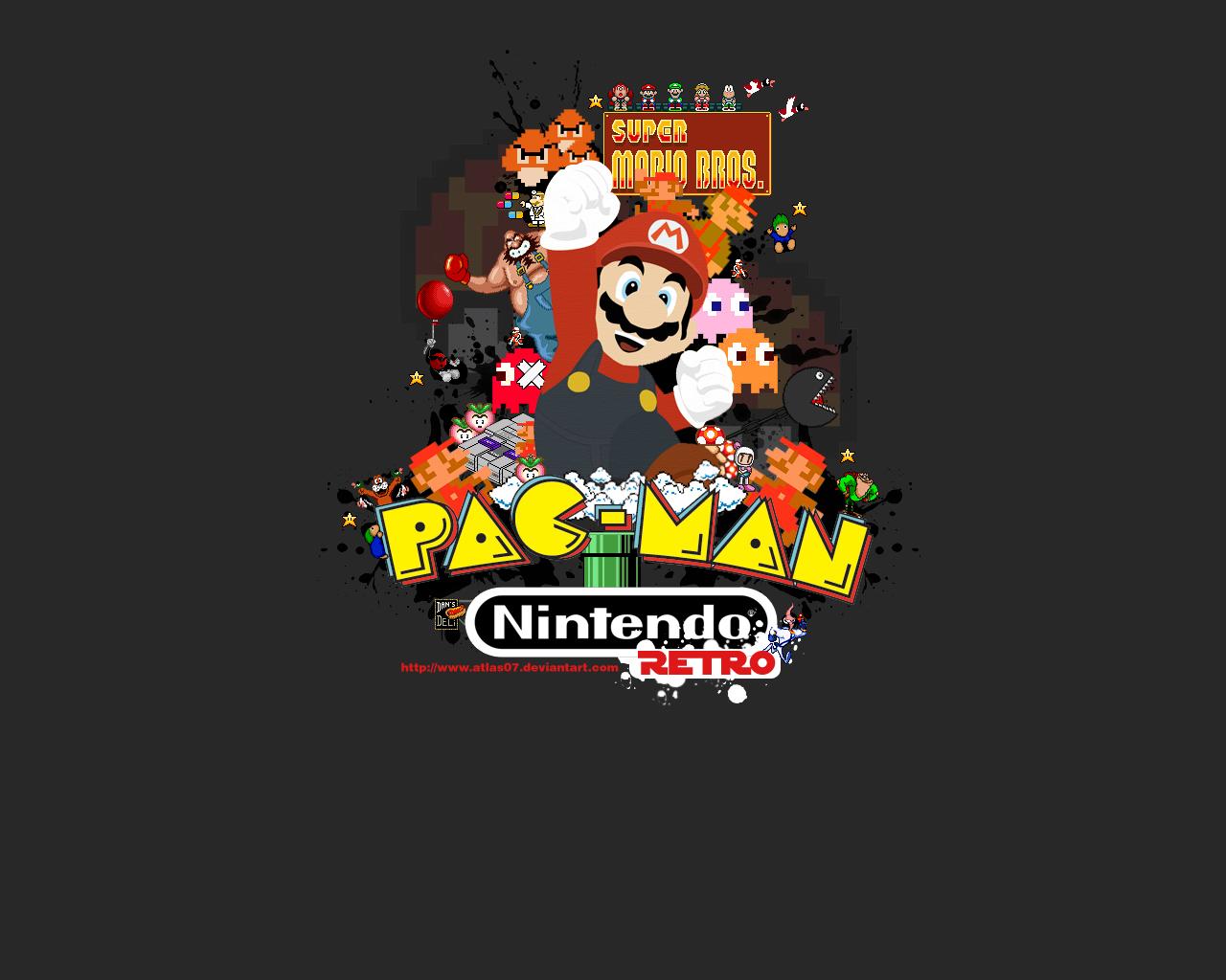 48] Retro Game Wallpapers on WallpaperSafari 1280x1024